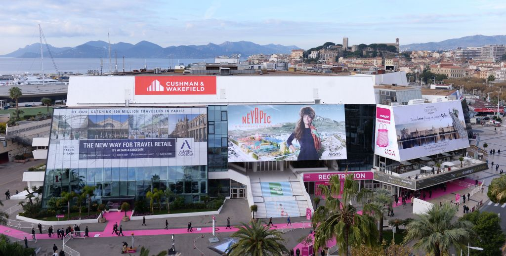 Exhibit At Mapic In Cannes