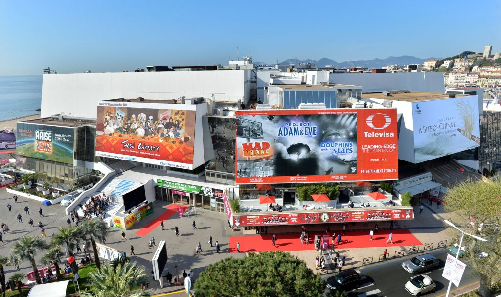 Mip Tv Stands Cannes