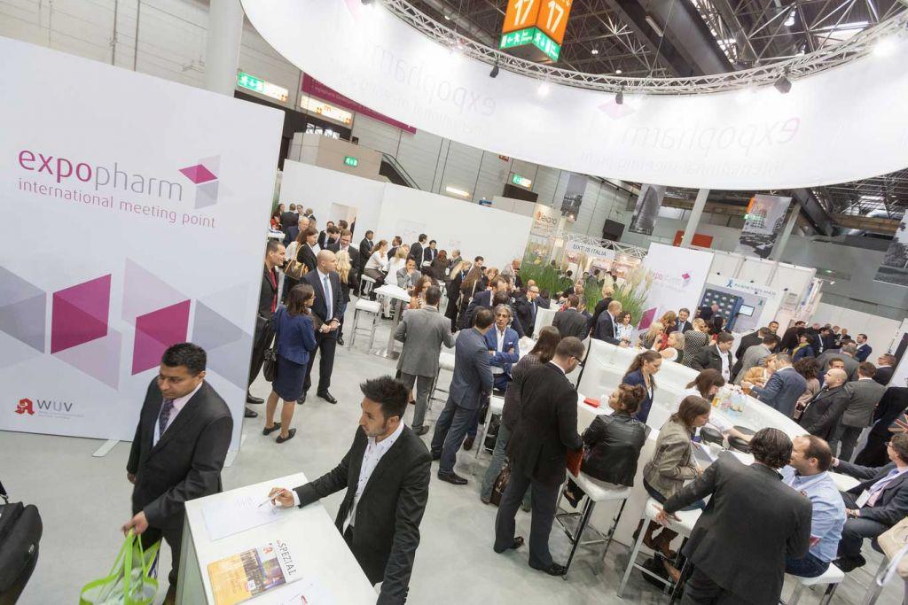 Expopharm Munich Stands Halls