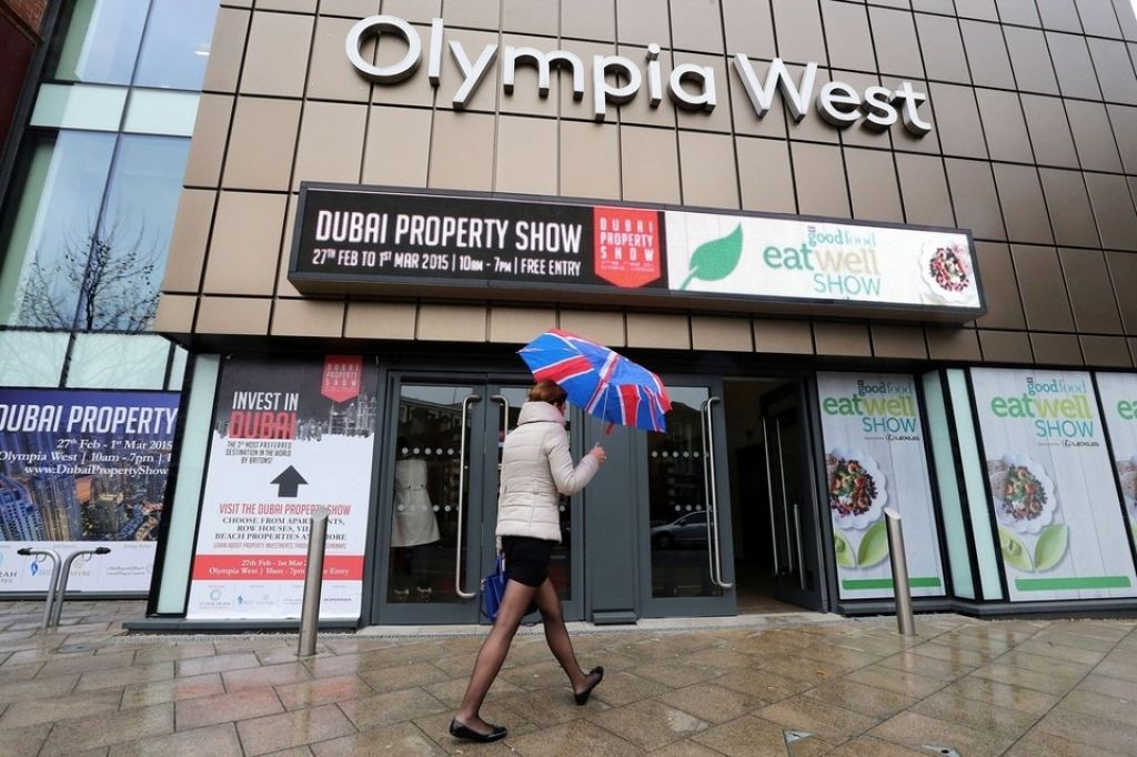 Dubai Property Show Stands Olympia