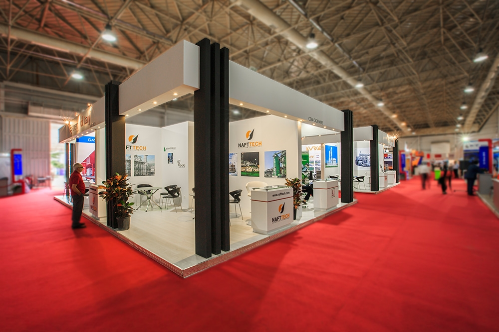 Iran Oi Stands Exhibiting