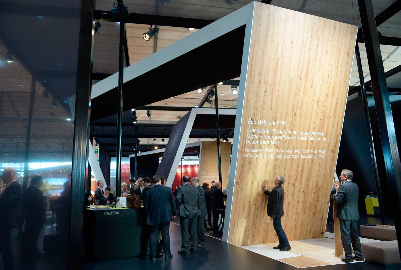 Stand de Design em Domotex Hannover
