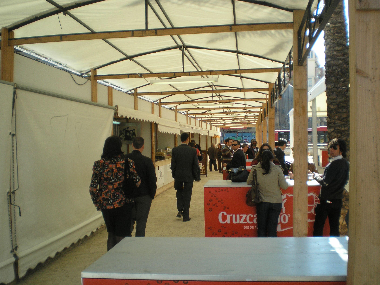 Expo Stands Montajes 2003 : Eventos duran montajes exteriores sl