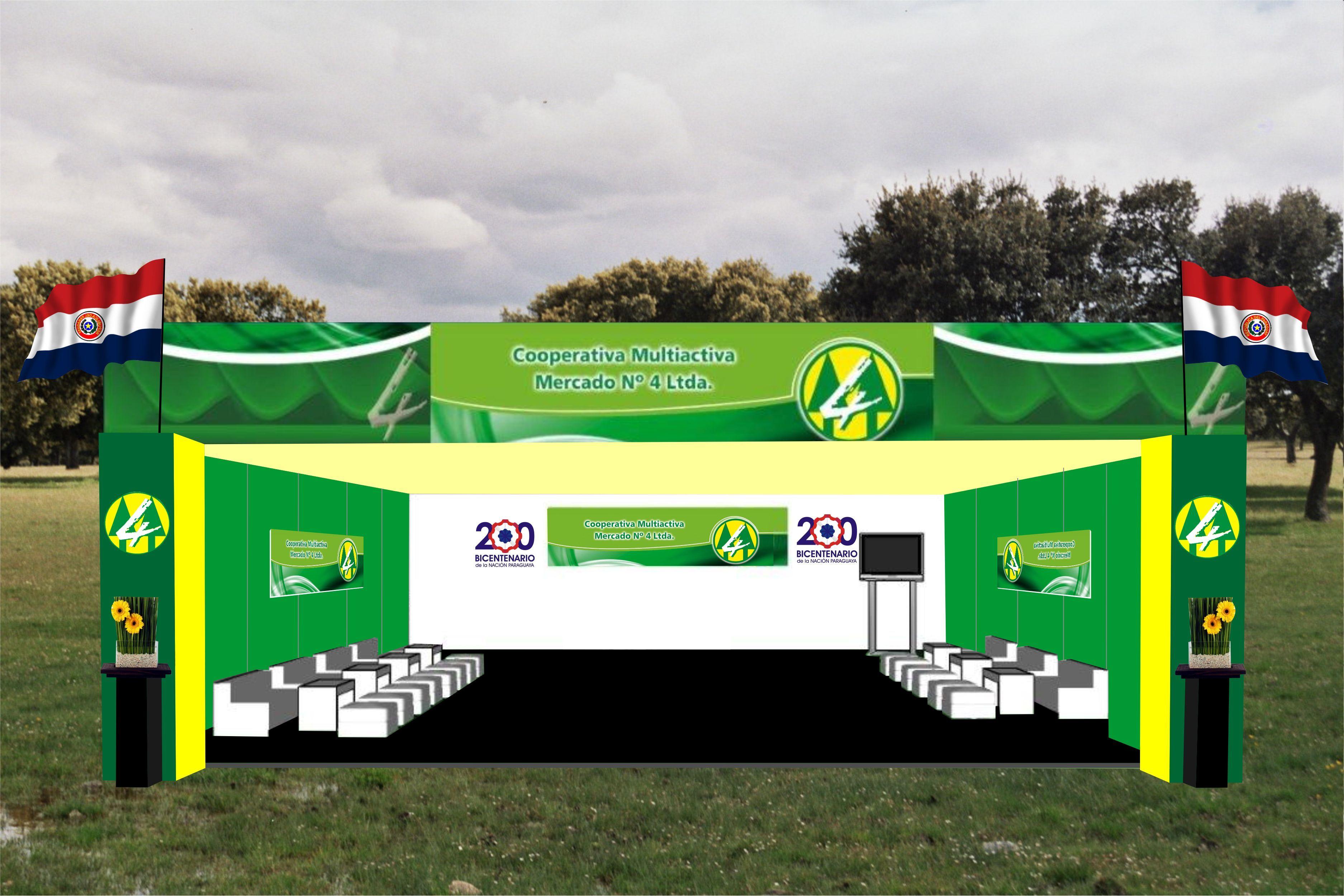 stands modulares paraguay