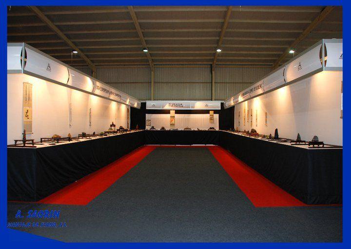 Expo Stands Montajes 2003 S L : A saorin montaje de stand s l