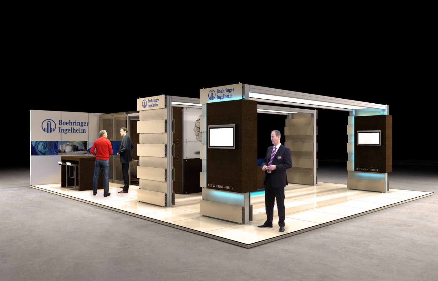 Expo Stand Builders : Allround expo builders