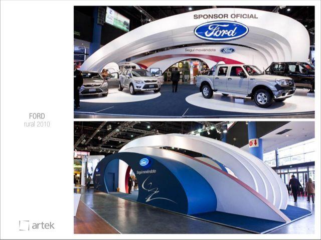 Artek - Car show booth ideas