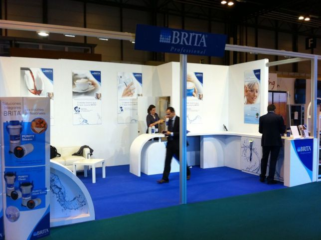Apex Stand Designs : Design and installation of the booth by brita standesign