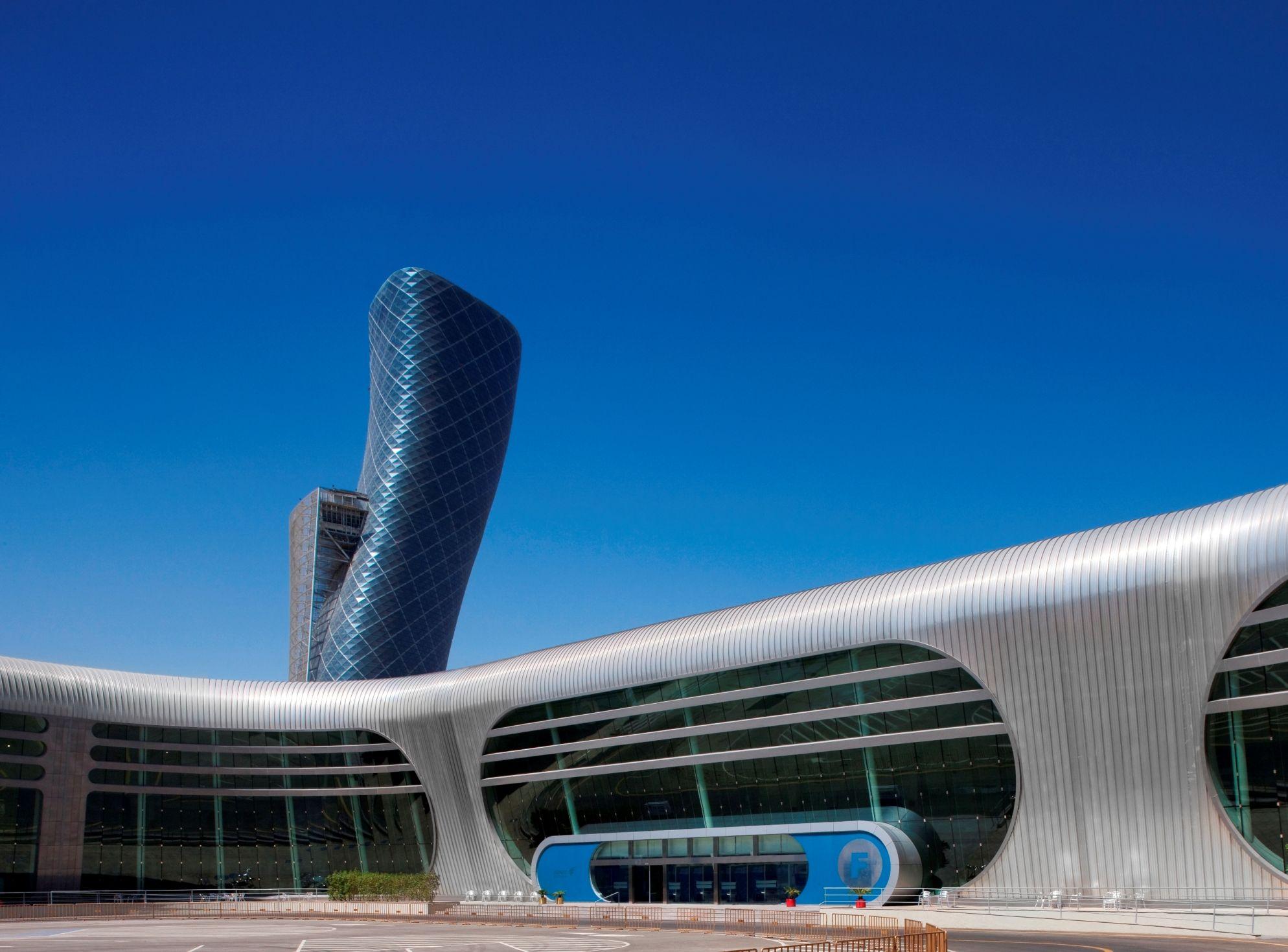 Abu Dhabi National Exhibition Centre Adnec
