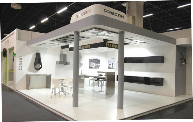 Modern Exhibition Stand Zone : Imm living kitchen