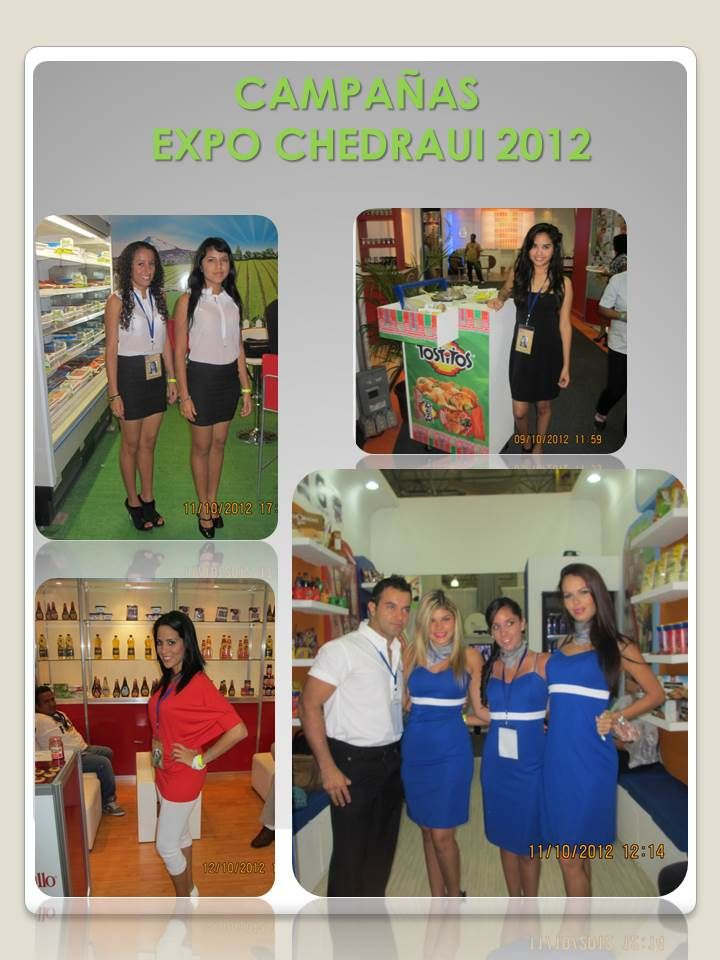 Stands Para Expo : Making promotions