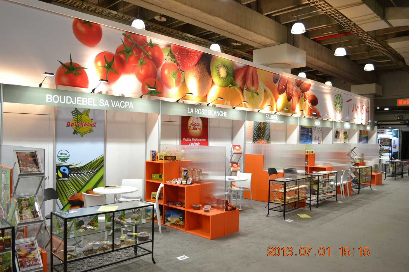 Exhibition Stand Food : Amf international