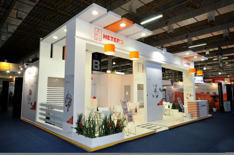 Exhibition Stand Raised Floor : Cphi sa