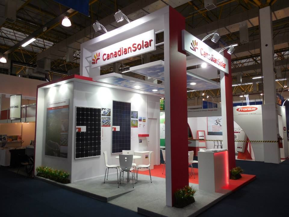 Exhibition Stand Design Specifications : Canadian solar intersolar south america são paulo