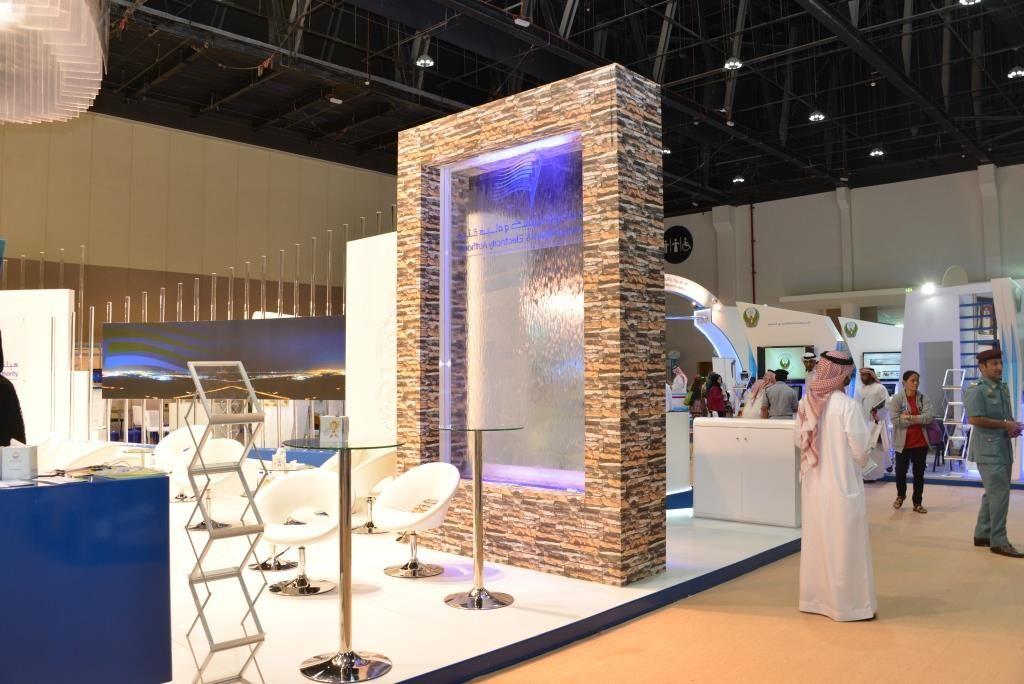 Exhibition Stand Water : Adwea exhibition stand