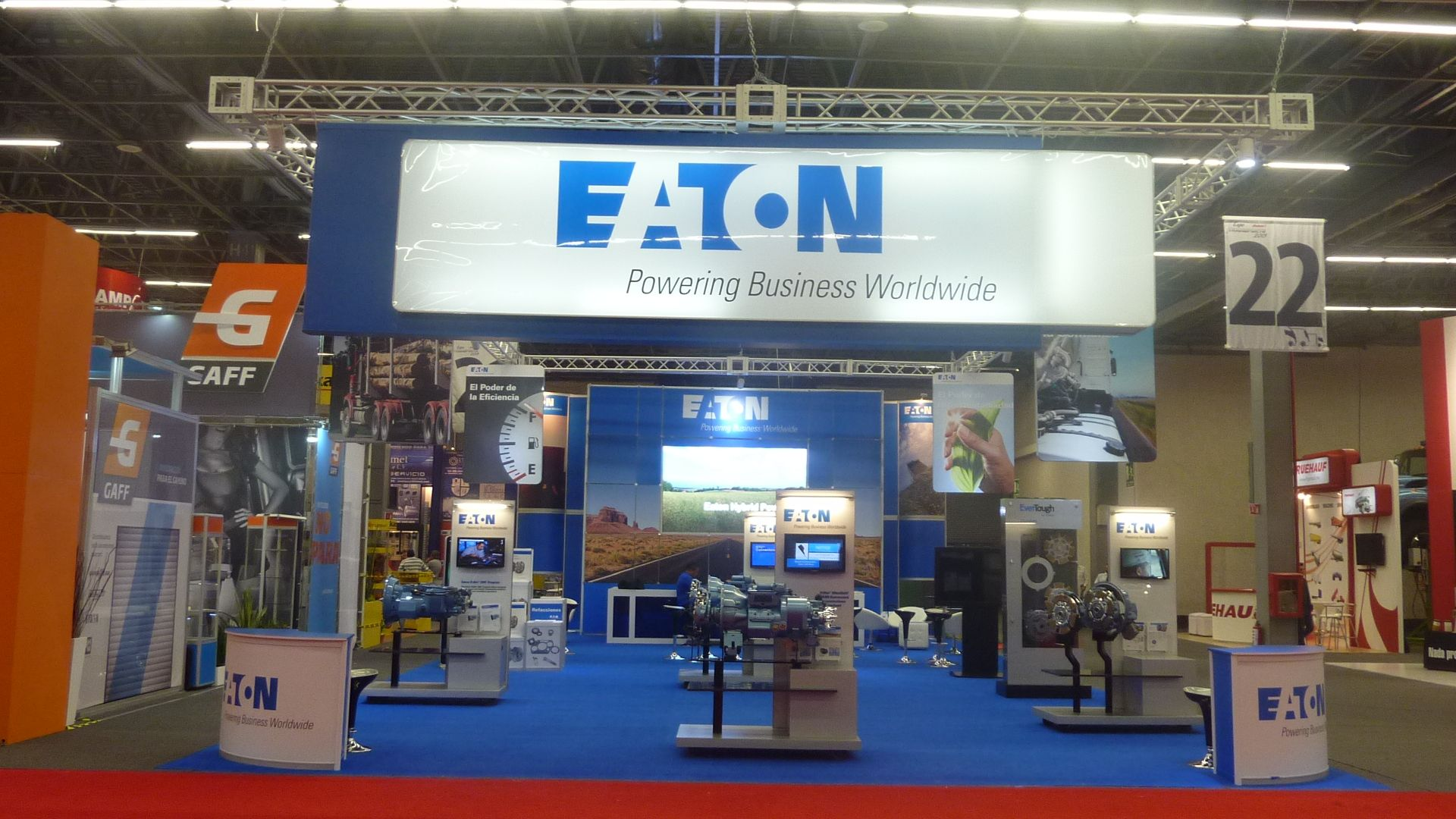 Expo Stands Monterrey : Eaton participa con us exhibidor de expomex en expo