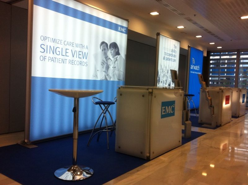 Exhibition Stand Companies : Assembly and organisation congress himss