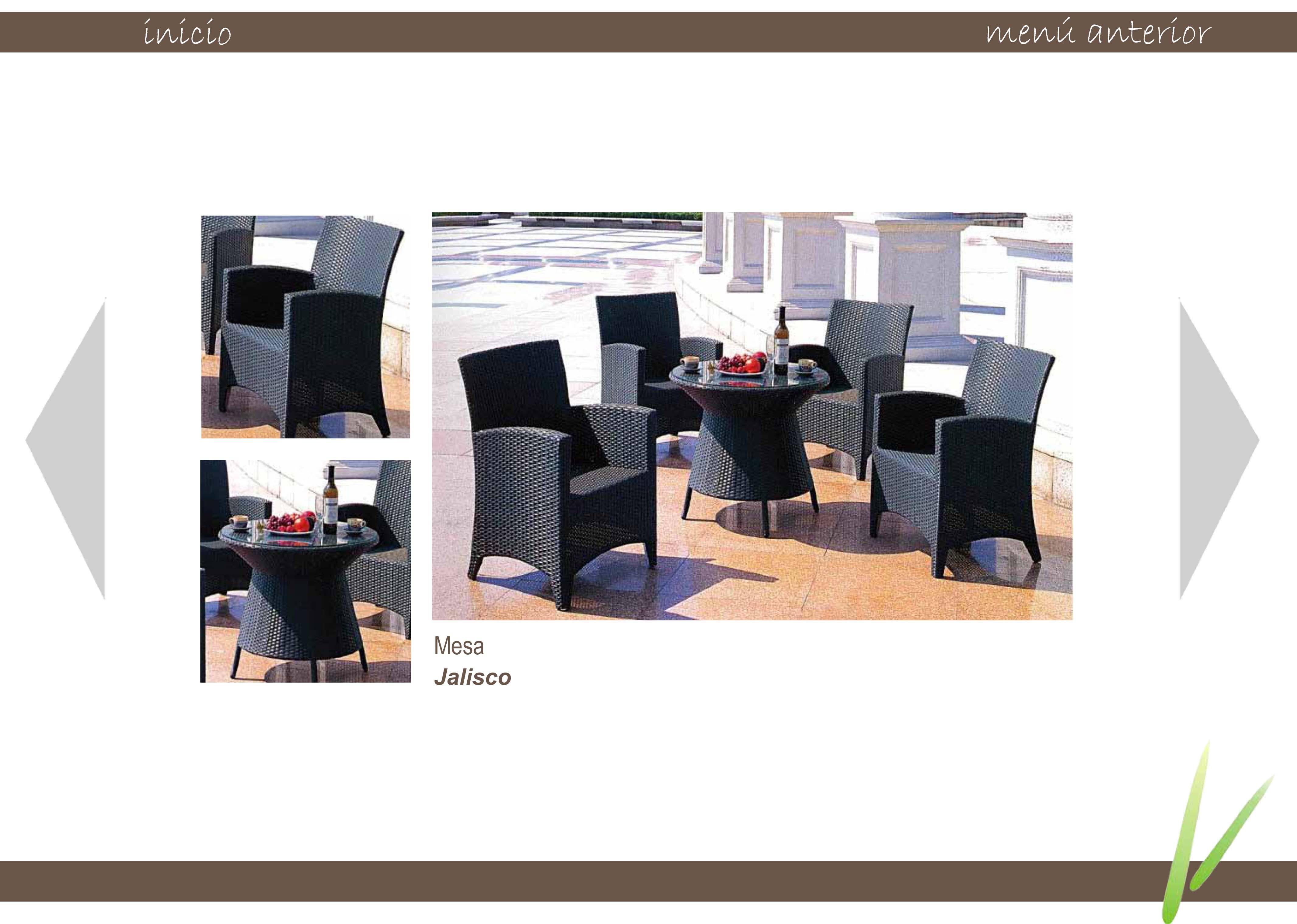 Fotos espacio casual muebles para exteriores - Muebles para exteriores ...