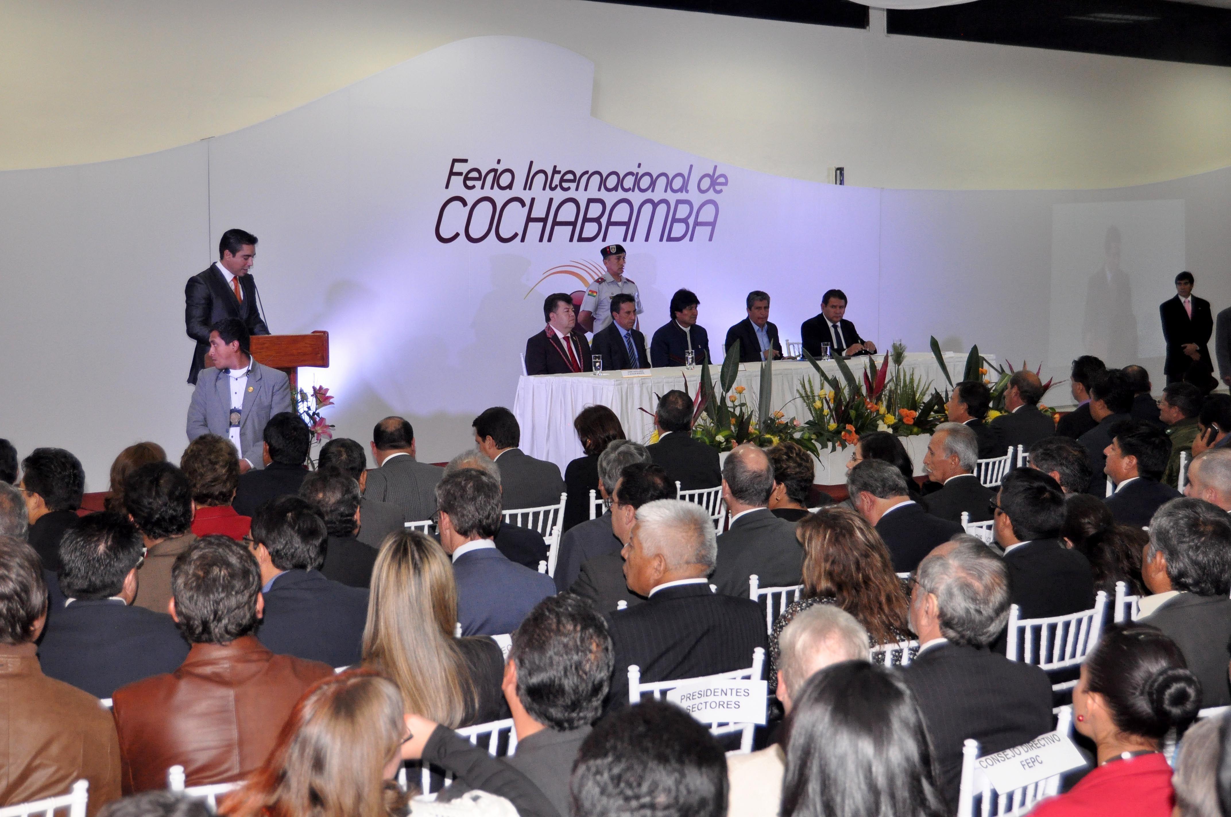 Expo Stand Bolivia : Fundación para la feria internacional de cochabamba