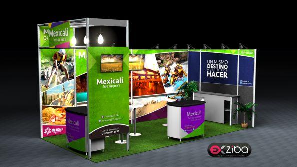 montaje de stands en mexicali
