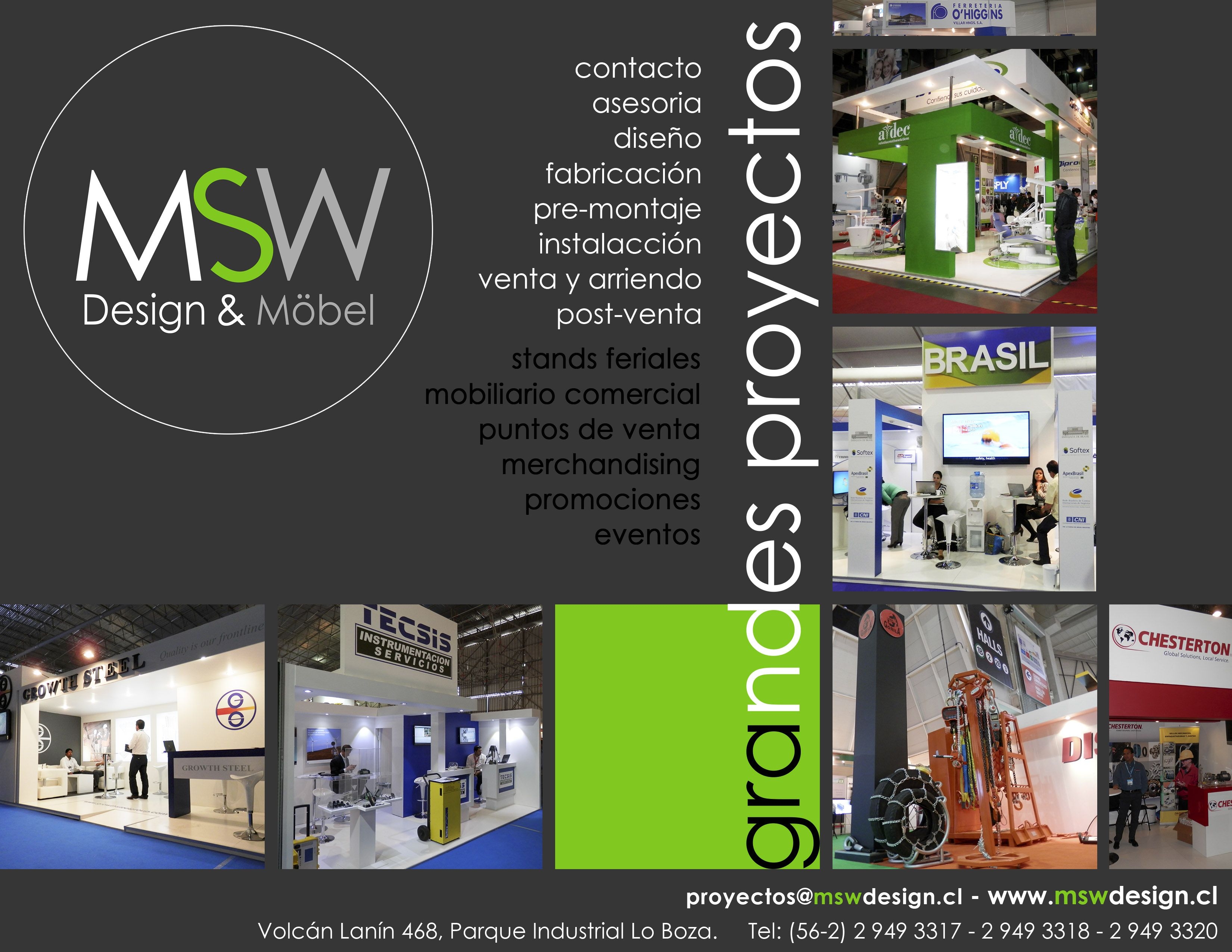 Msw design mobel for Design mobel