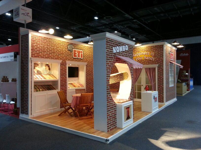 D Exhibition Stands : Eti gulf food exhibition stand