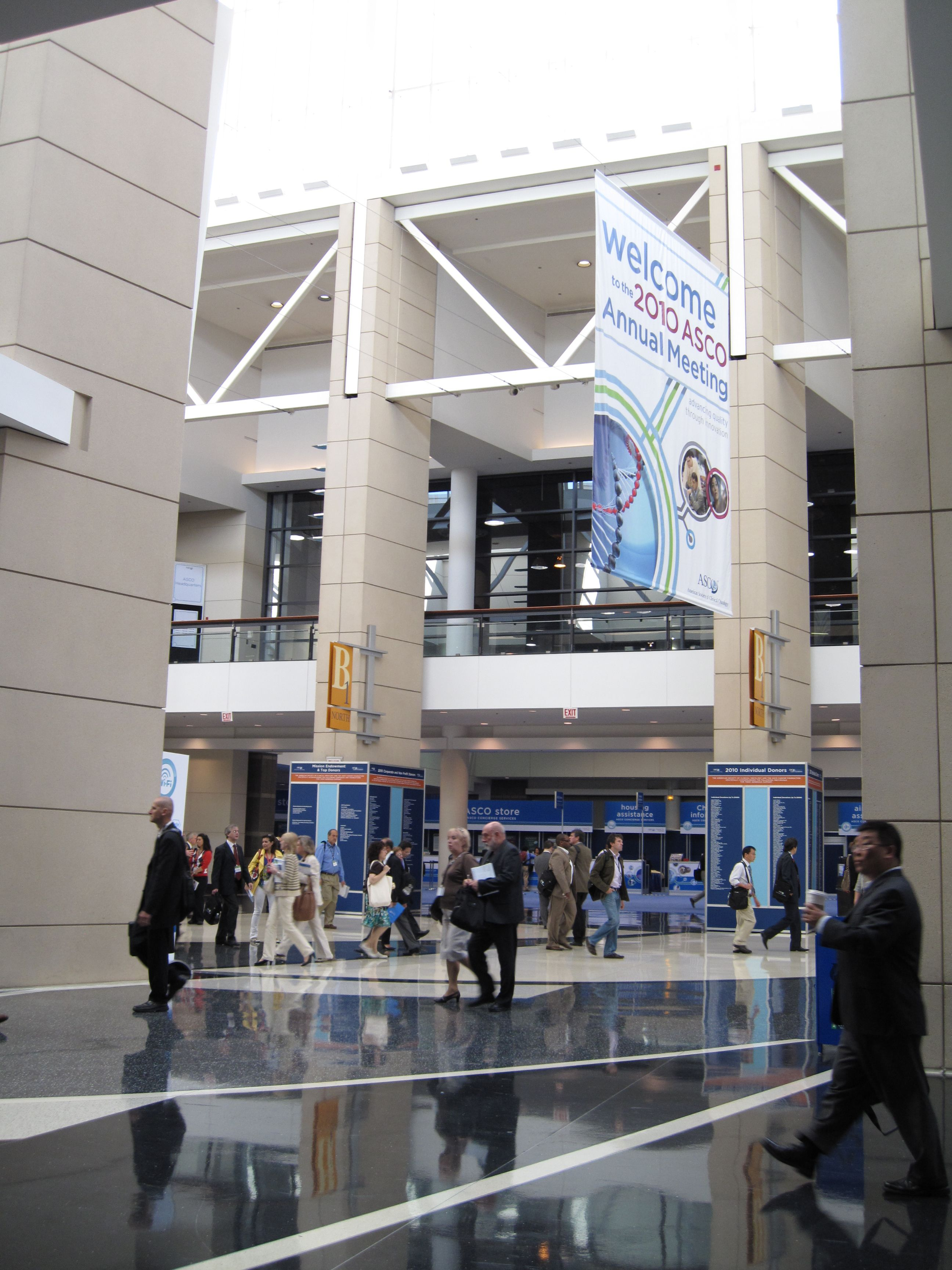 Trade Event Stands : Asco annual meeting