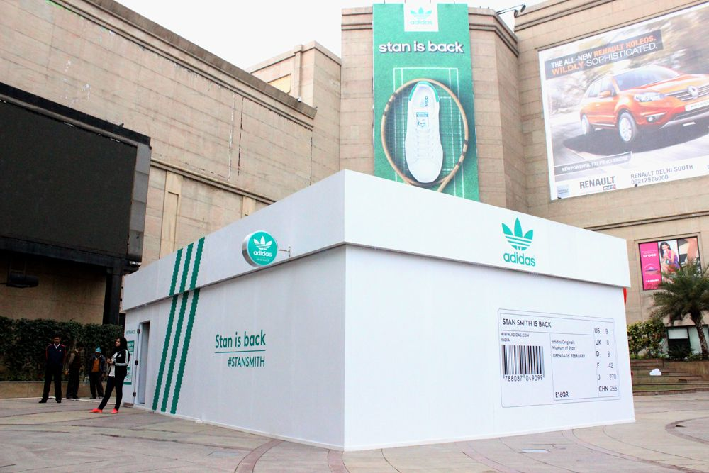 the latest 2c55d f4535 Stand Smith pop up store for Adidas