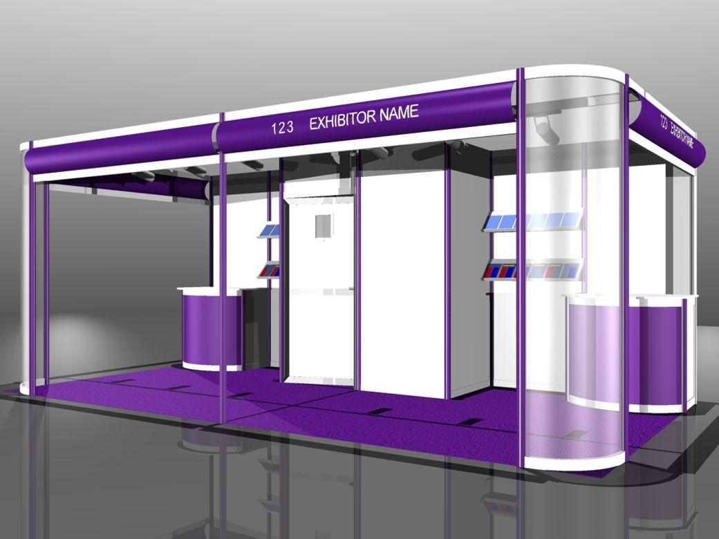 Exhibition Shell Scheme Design : D