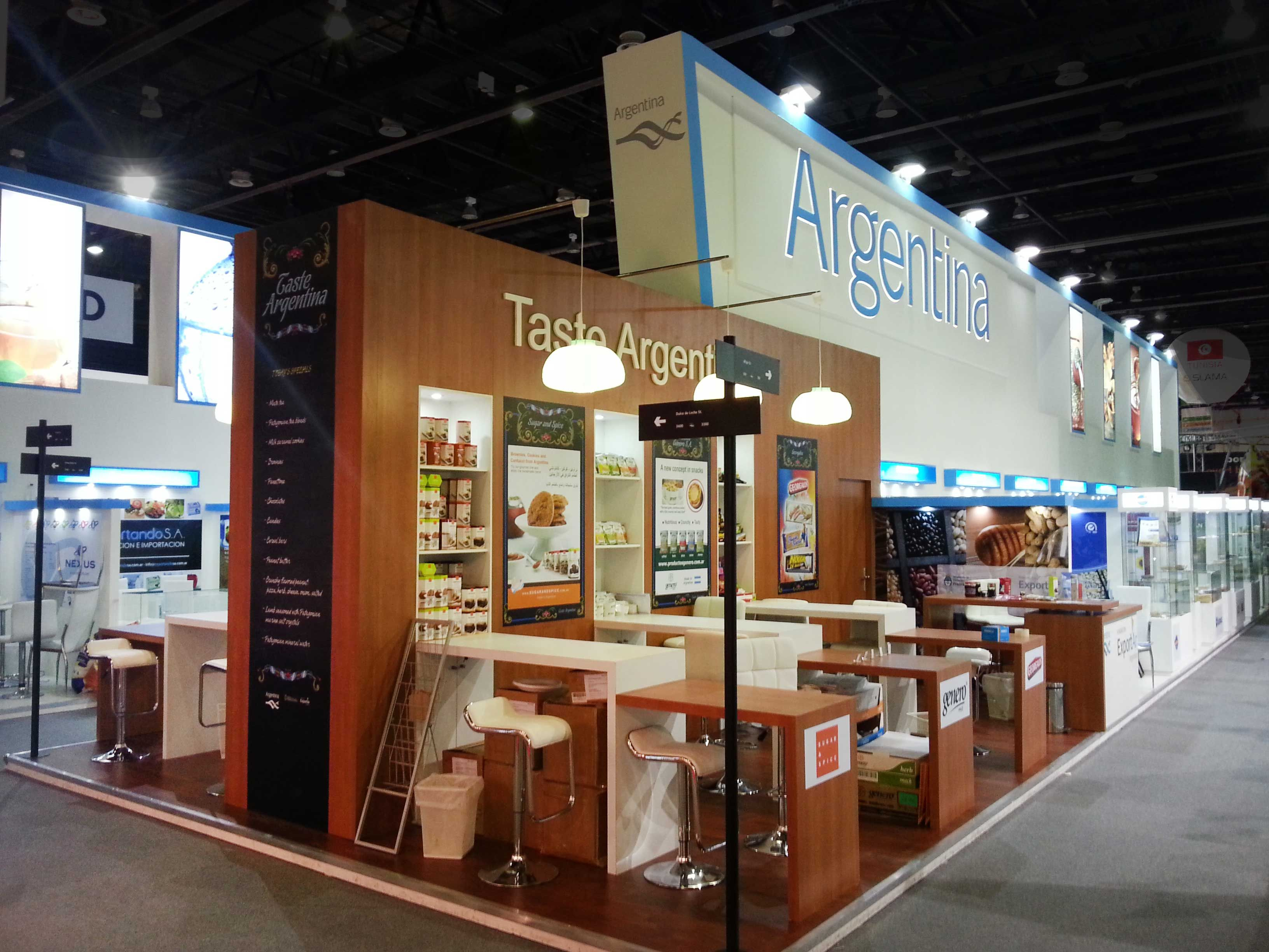 Gulfood 2013 Pabellón Argentino 320 Mts 2