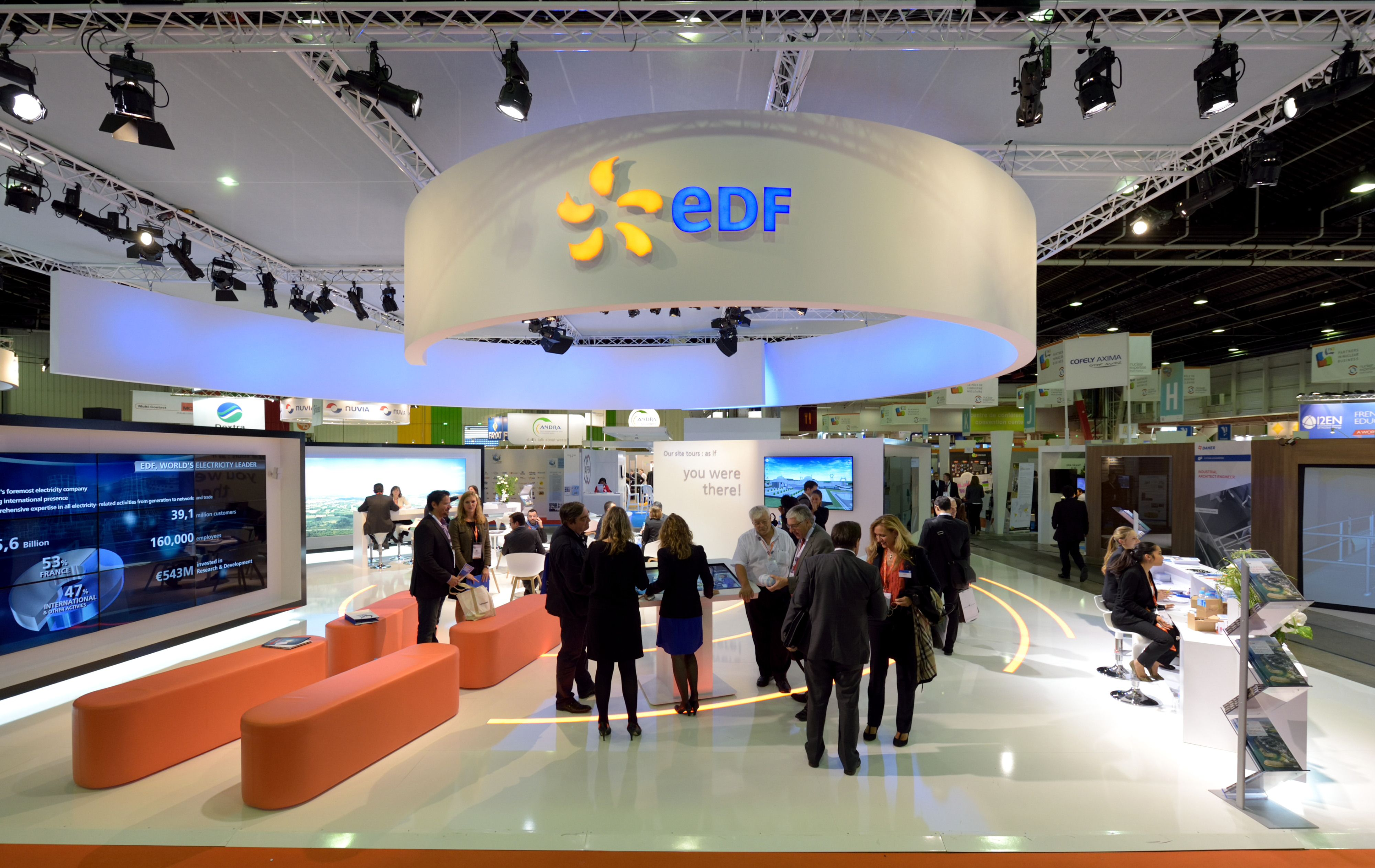 Exhibition Stand Awards : Wne world nuclear exhibition