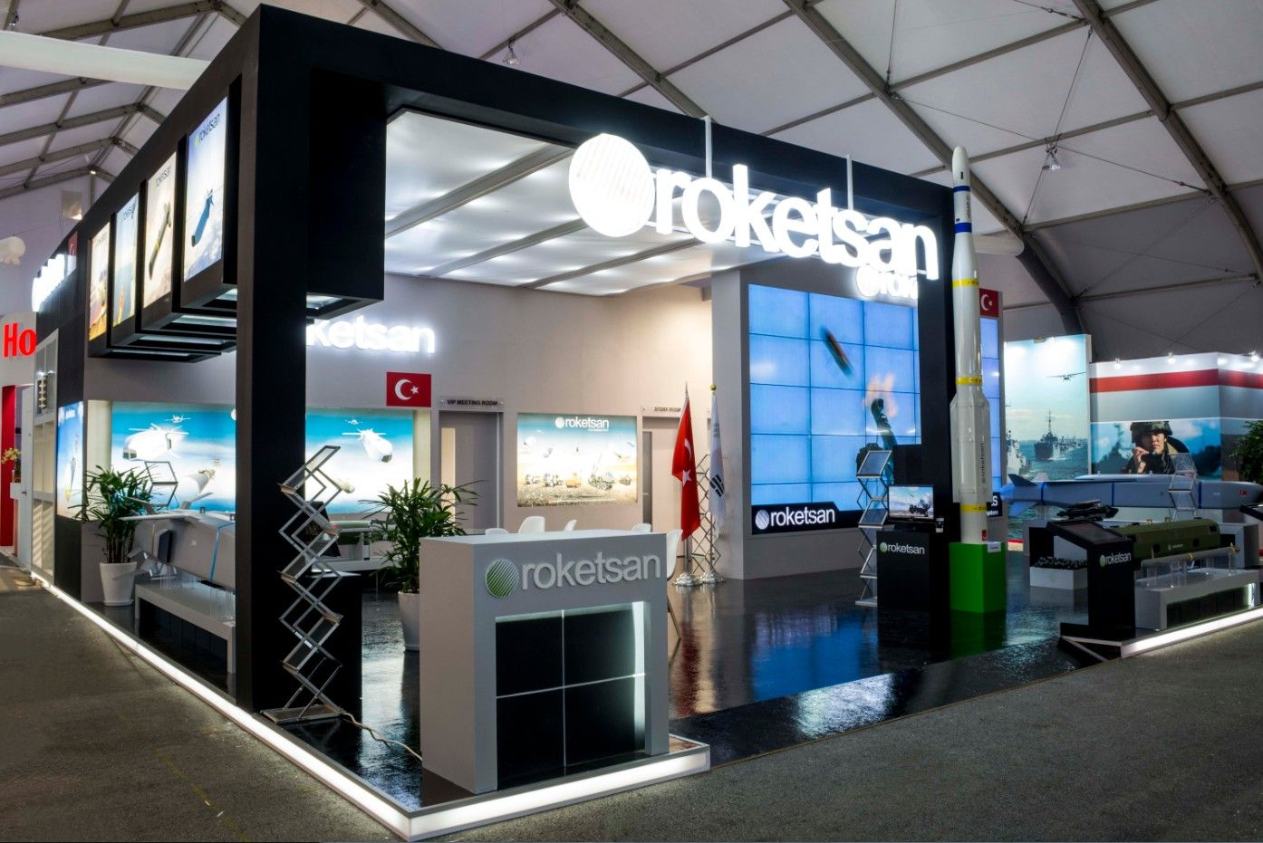 Expo Exhibition Stands Quotes : Adex turkey pavilion roketsan
