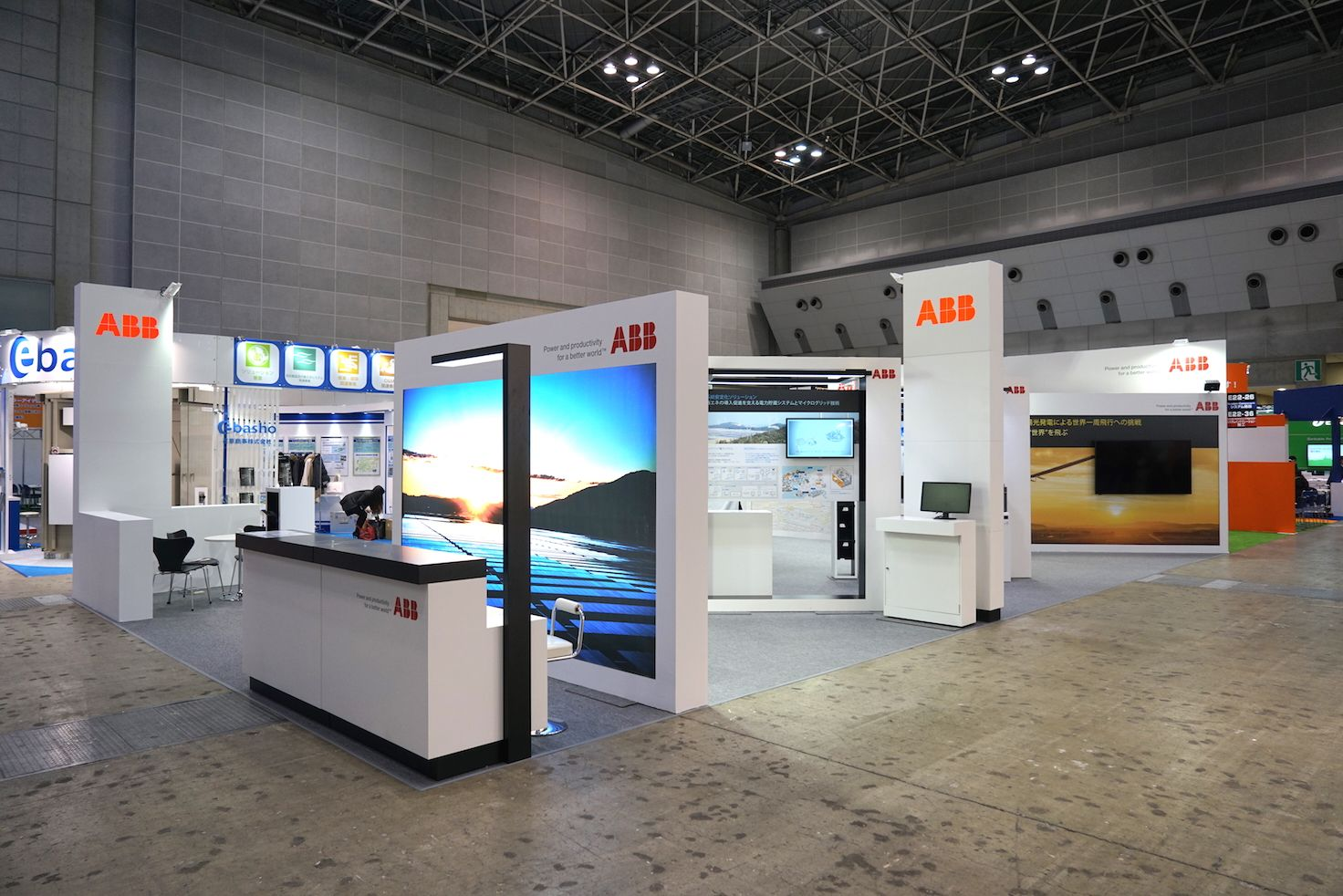 Exhibition Stand Guidelines : Abb pv systems expo tokyo part of world smart