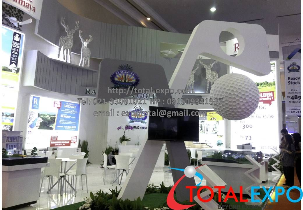 Expo Exhibition Stands Price : Total expo jakarta indonesia