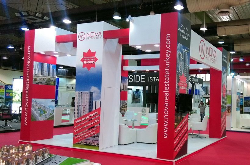 Exhibition Stand Installation : Smart power co design fabrication installation of