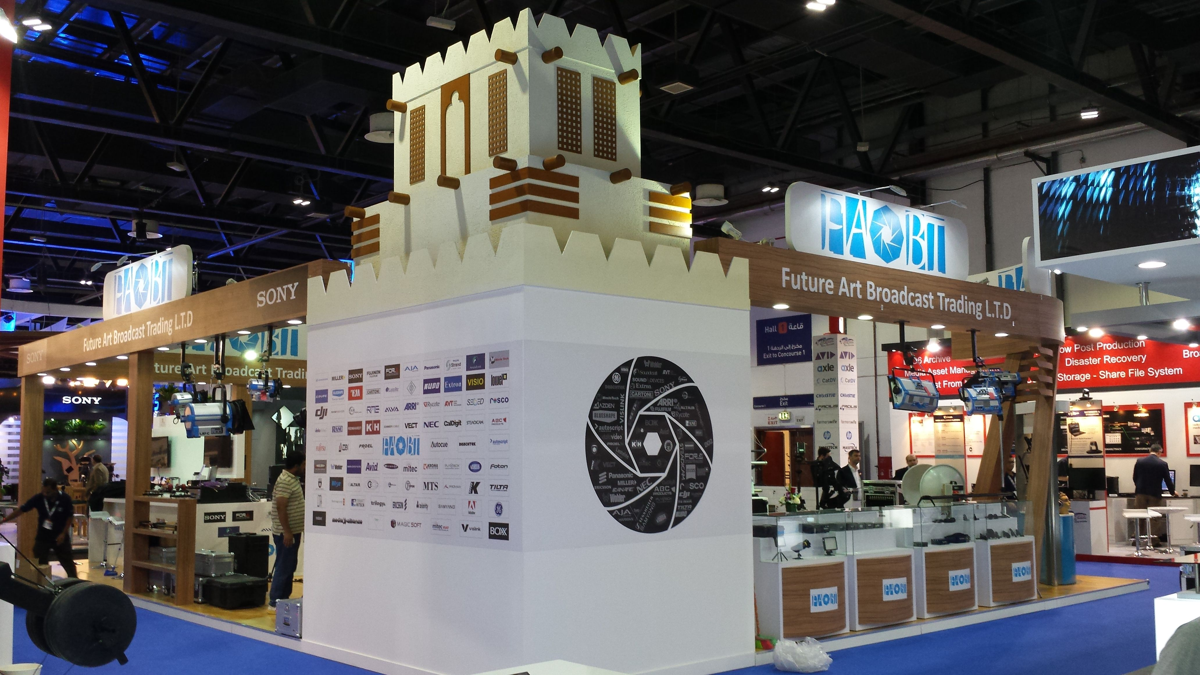 Exhibition Stand Company In Qatar : Star spring exhibition services