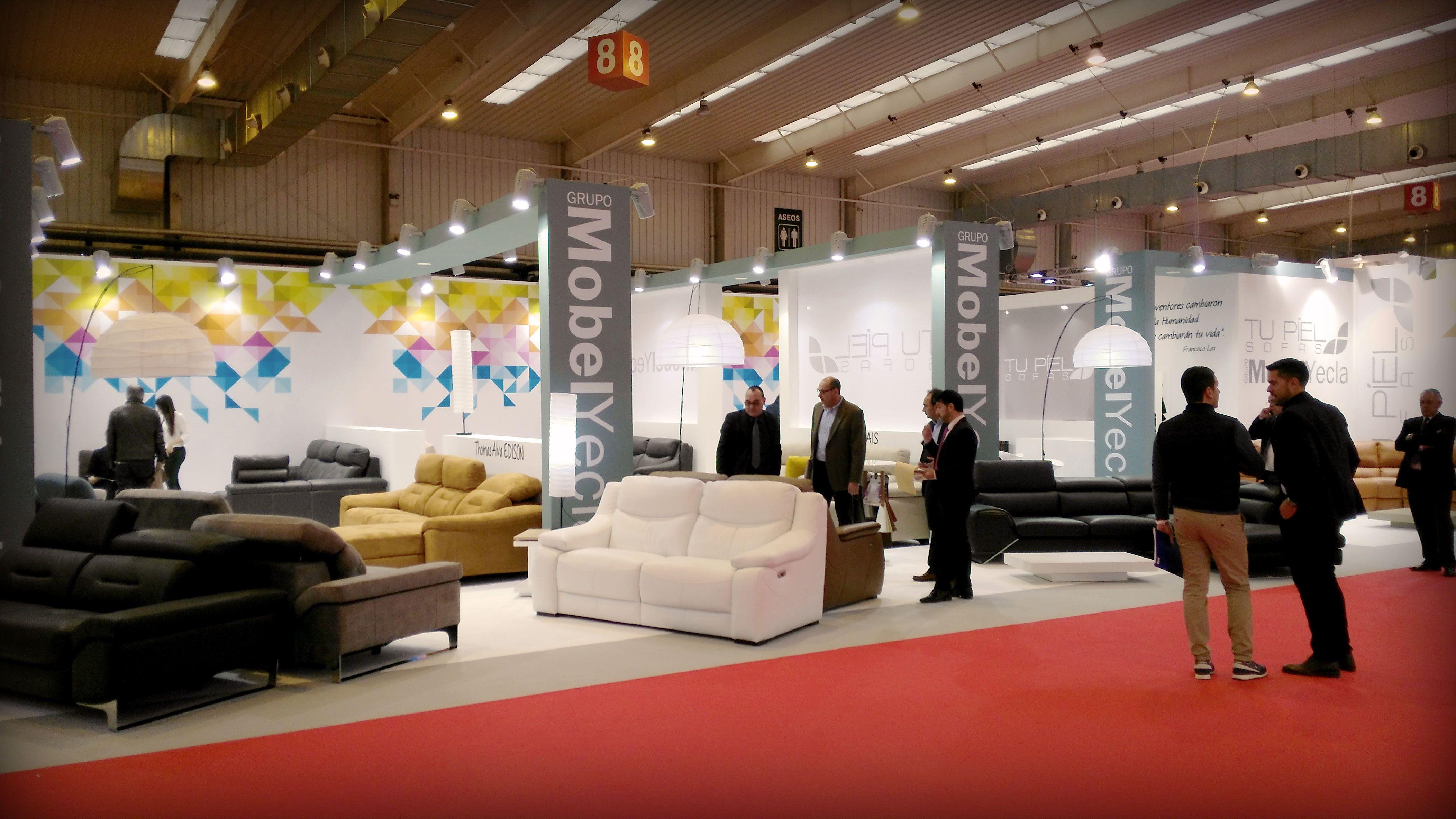Grupo alc works in 11 stand at zaragoza furniture - Mobel yecla ...