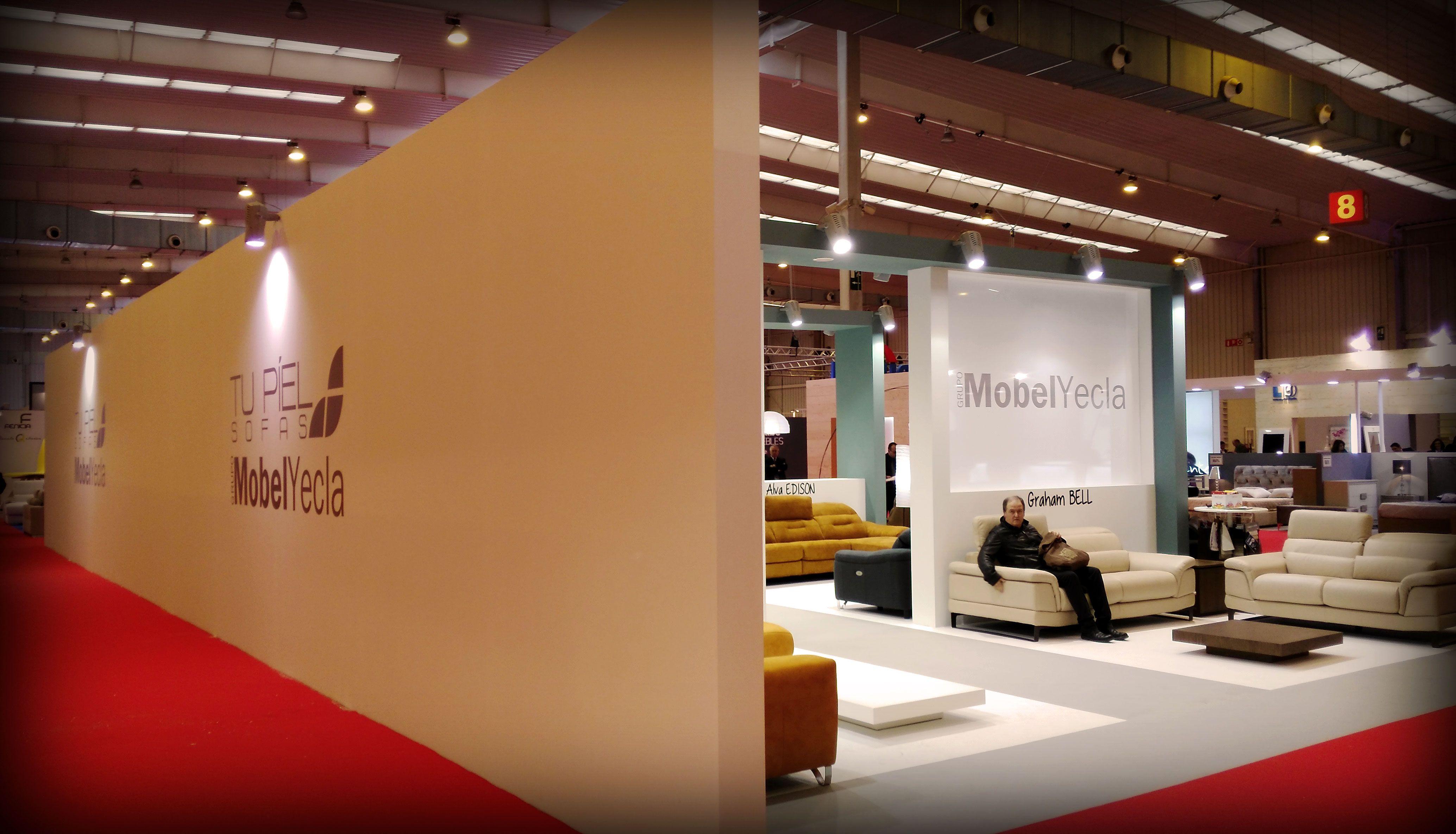 Grupo Alc Works In 11 Stand At Zaragoza Furniture Exhibition 2016  # Muebles Requena Requena