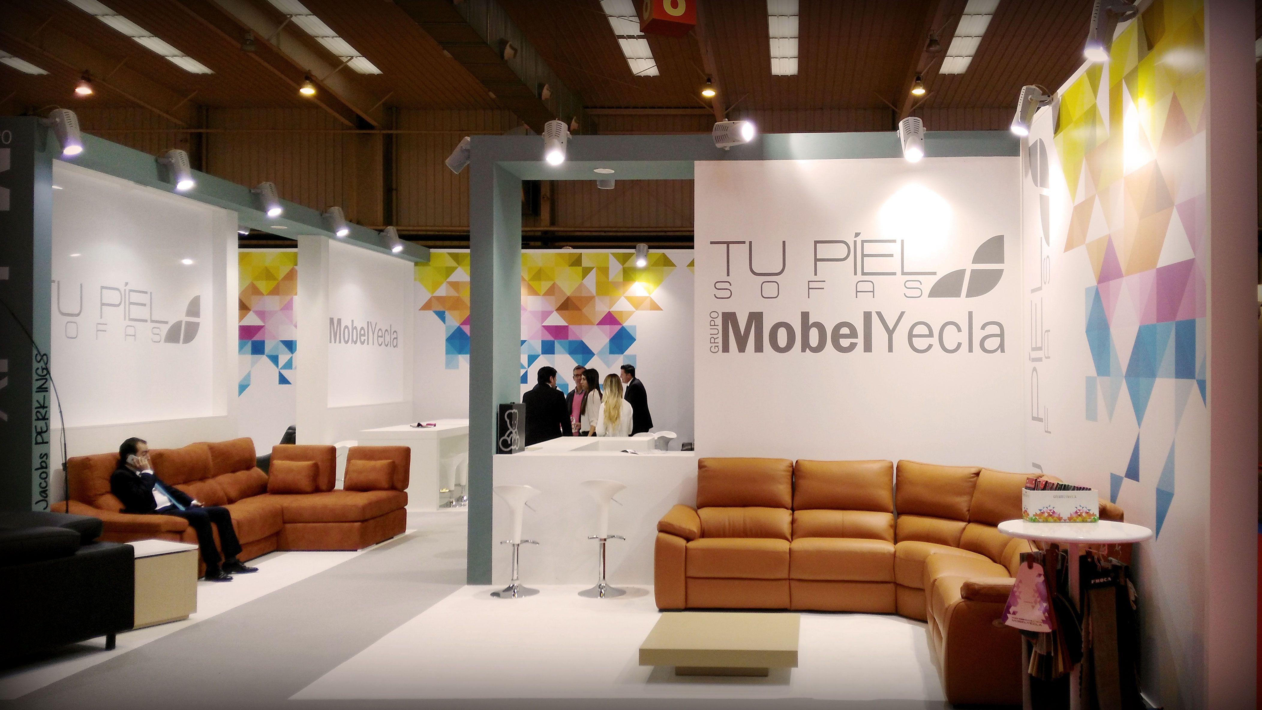 Grupo Alc Works In 11 Stand At Zaragoza Furniture Exhibition 2016  # Muebles Pedro Ortiz