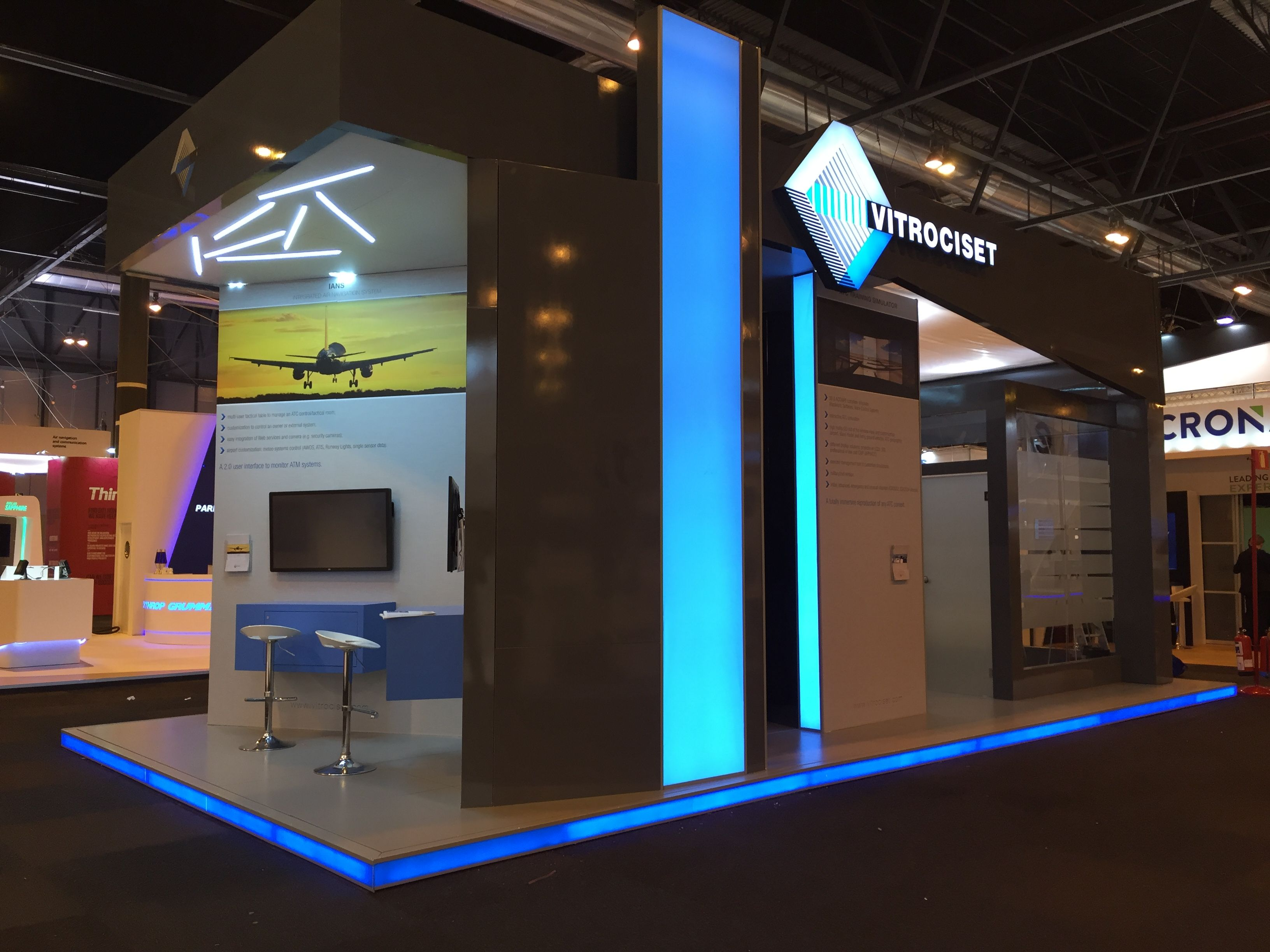 Ingegno s r l  for Vitrociset S p a  stand ATM 2016 @ Madrid, Spain