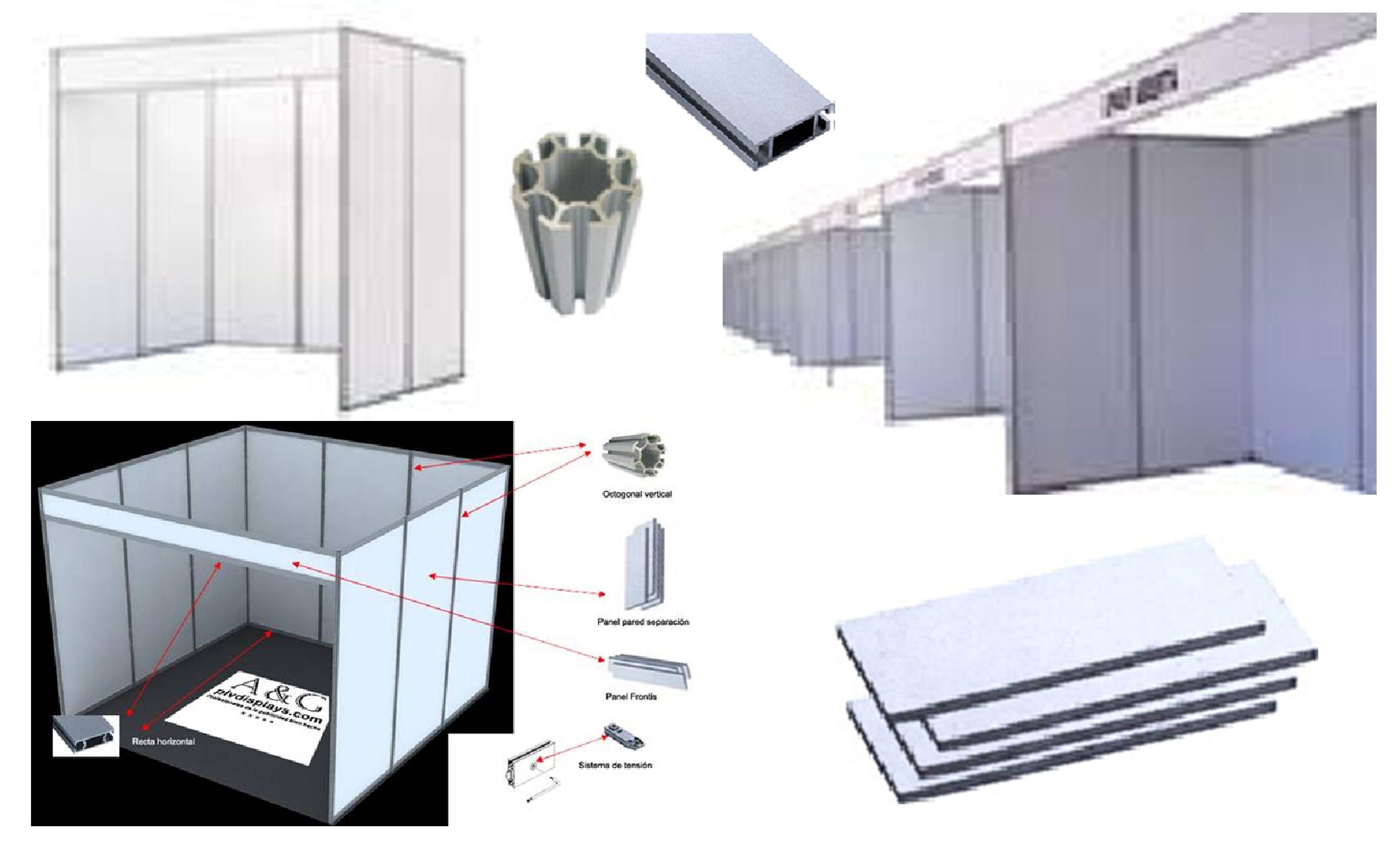 stand modular 3x2