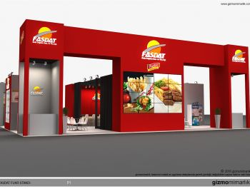 Modern Exhibition Stand Mixer : Exhibition stands in istanbul
