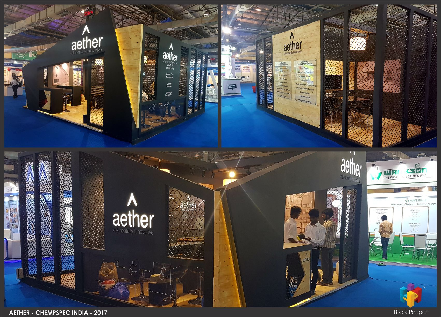 Pro Expo Communication Stands Events : Exhibition stands in mumbai