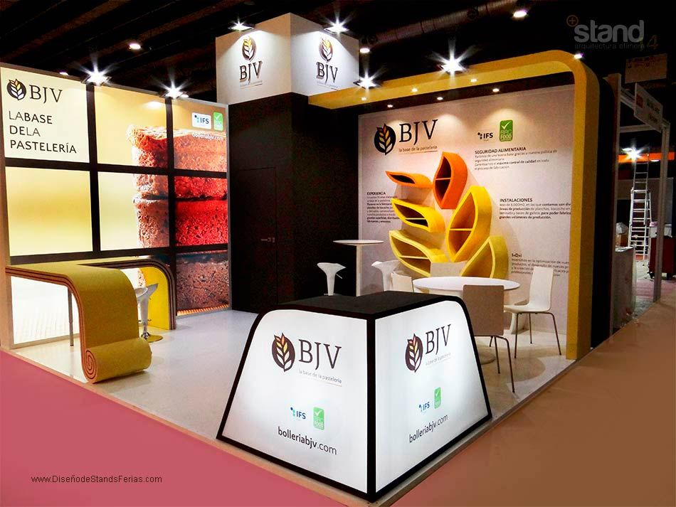 Marketing Exhibition Stand Near Me : Jef stand design