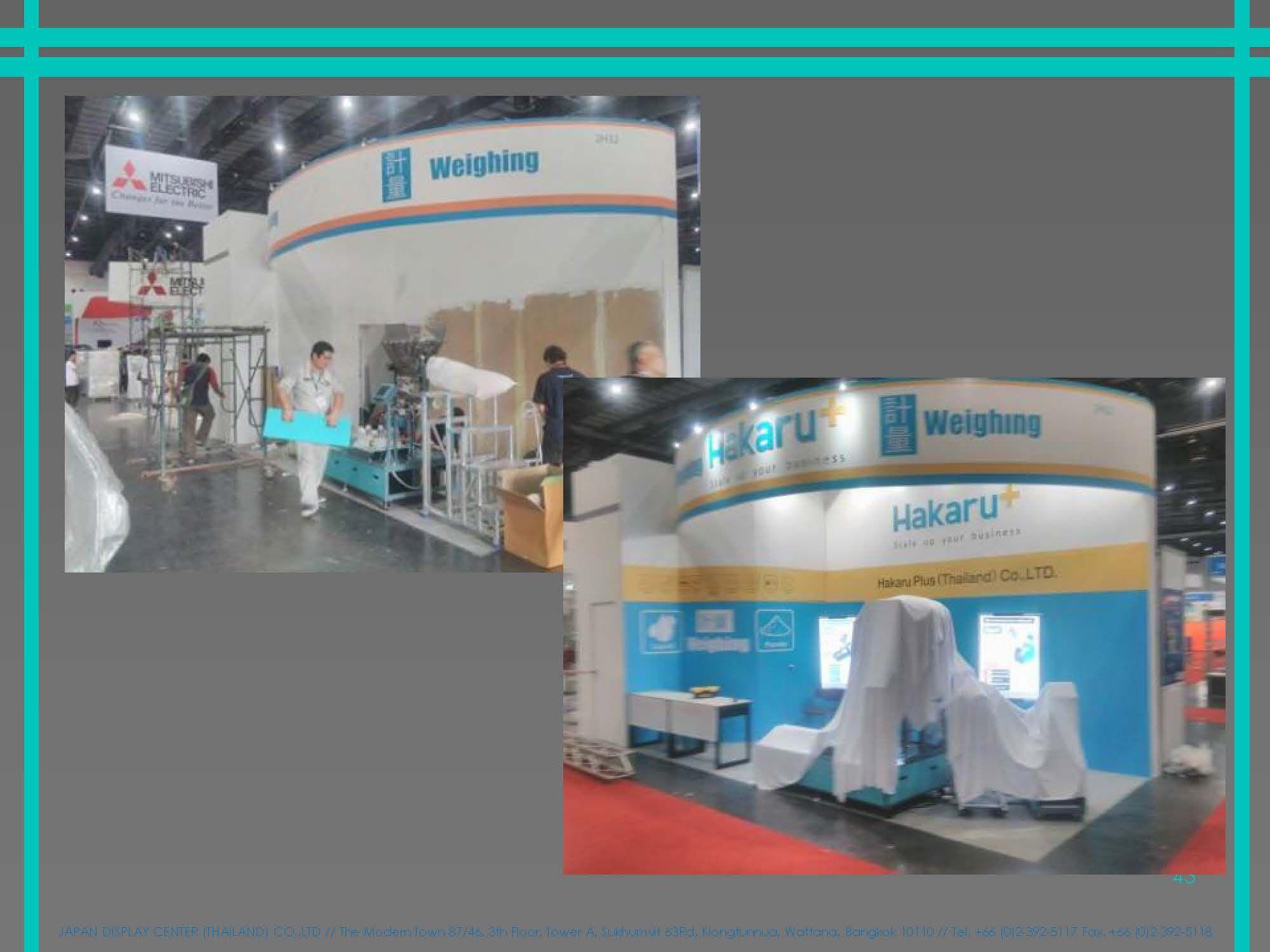 Exhibition Stand Builders Thailand : Japan display center thailand co ltd
