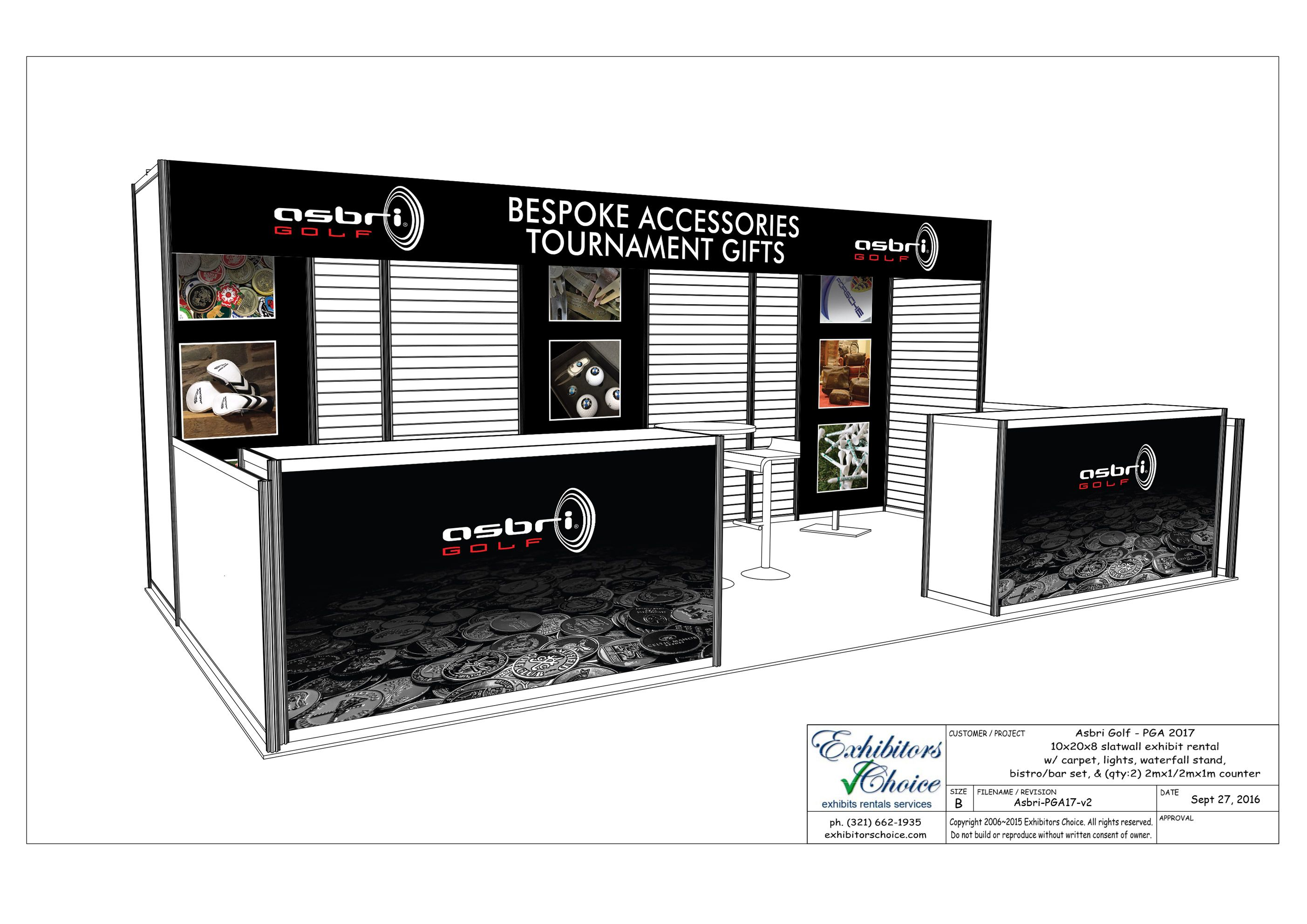 Exhibition Stands In Orlando : Photo of stands exhibitors choice orlando