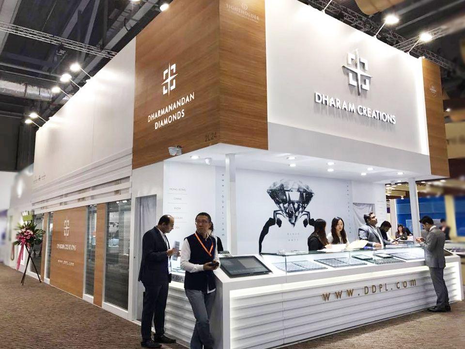Exhibition Stand Design Hong Kong : Hong kong international diamond gem & pearl show 2017