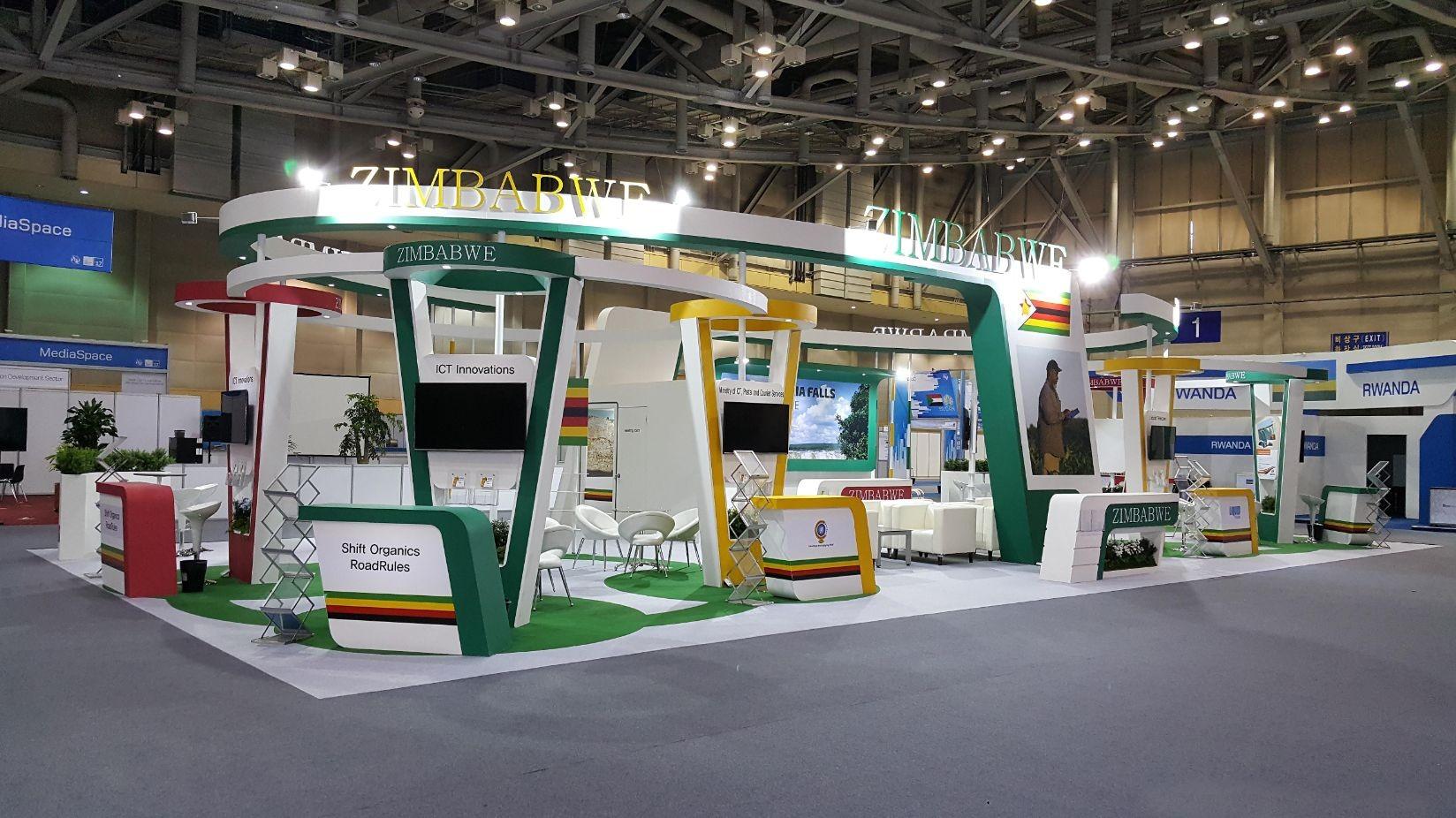Modular Exhibition Stands Zimbabwe : Eugene associates co ltd