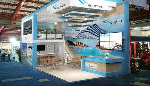 Exhibition Stand Fascia : Ace exhibitions pty ltd