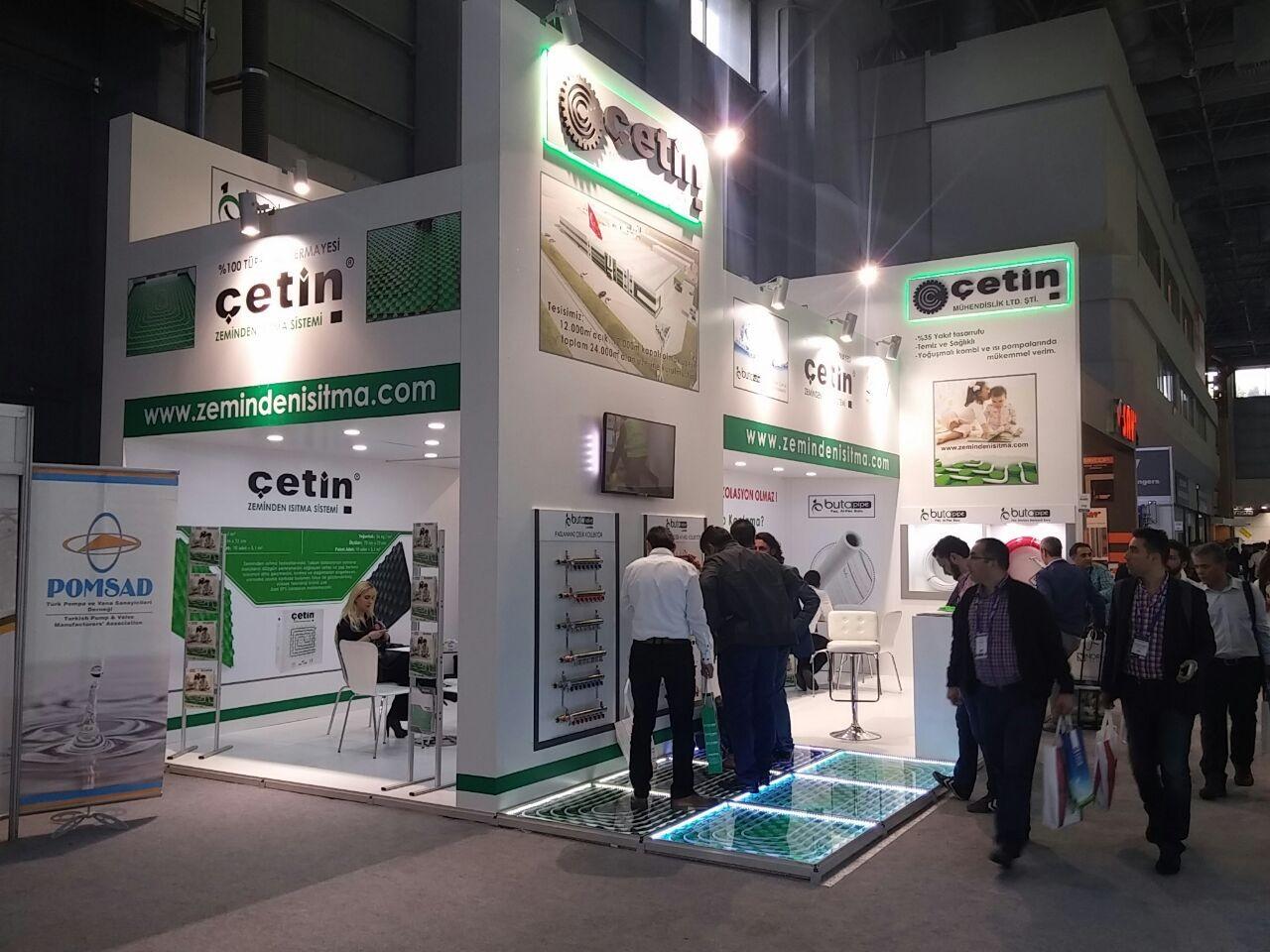 Exhibition Stand Fittings : Mert ahsap ltd Şti